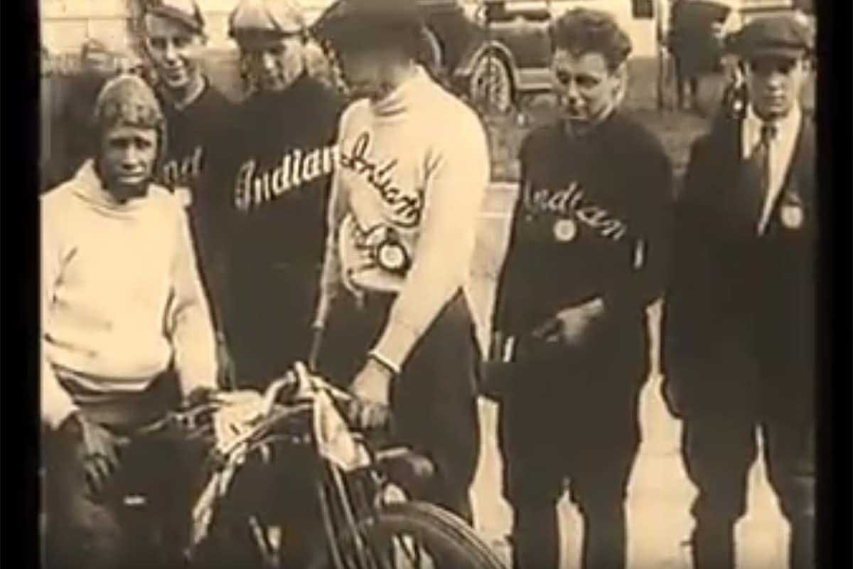 ¿Quieres ver cómo eran las carreras hace 100 años?