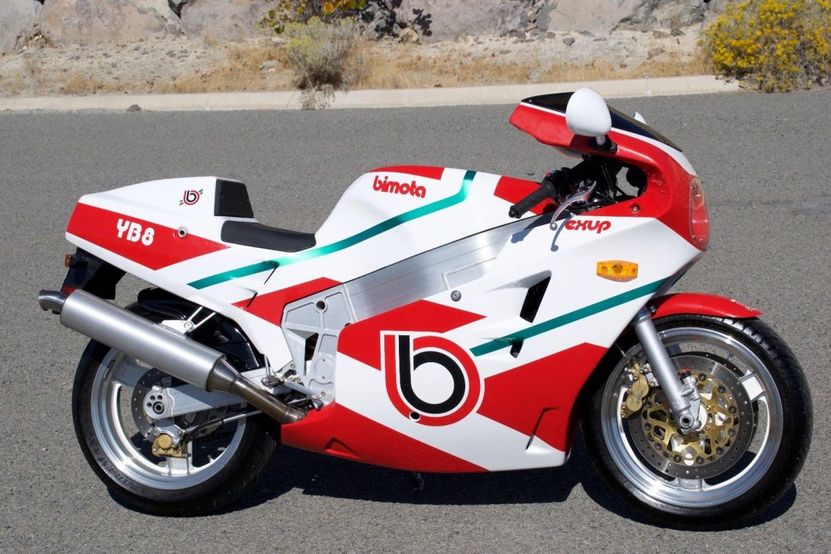 1992 Bimota Yb8 Furano - Get That Bike Loan