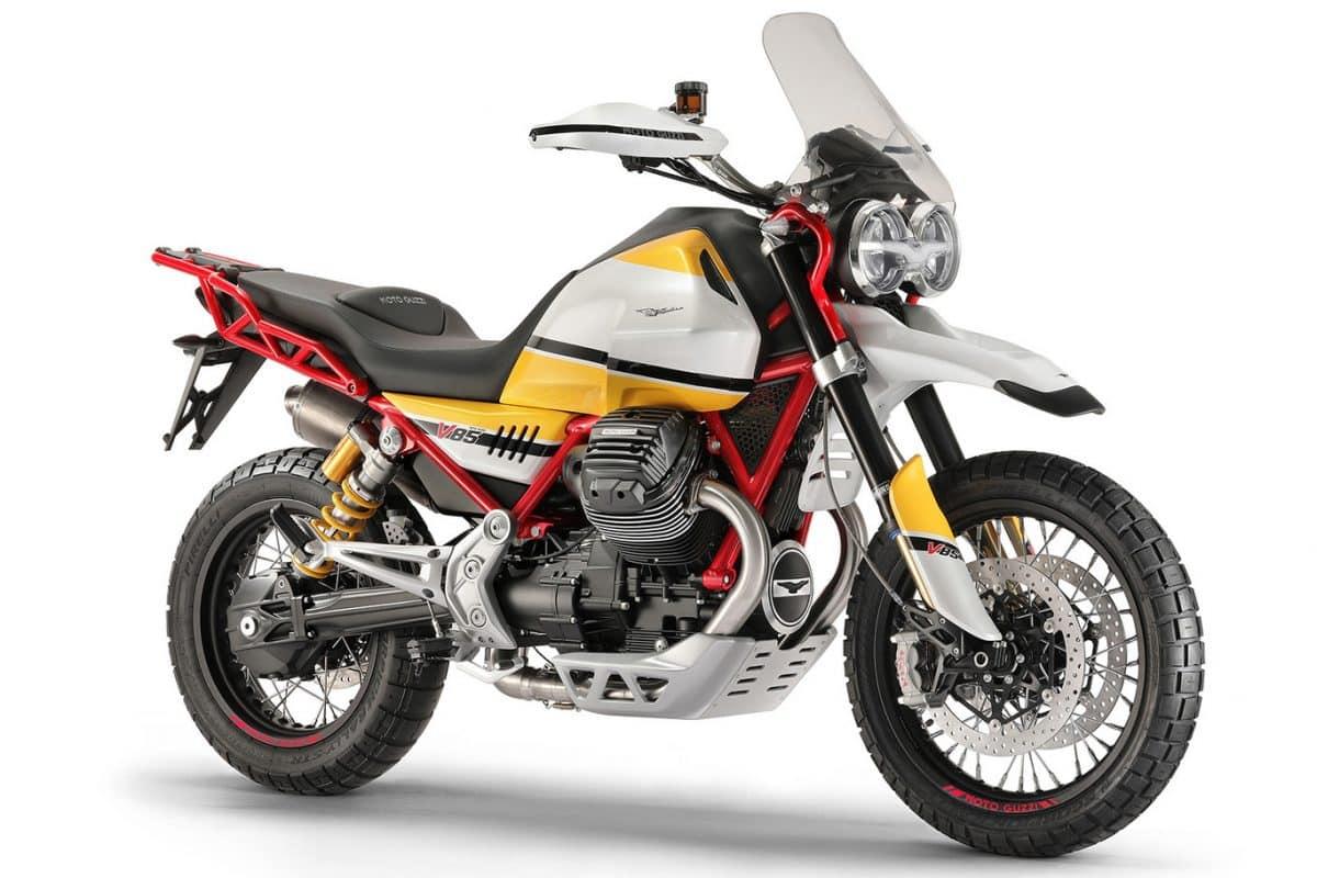 Moto Guzzi V85, una concept con aires de Rally Dakar clásico