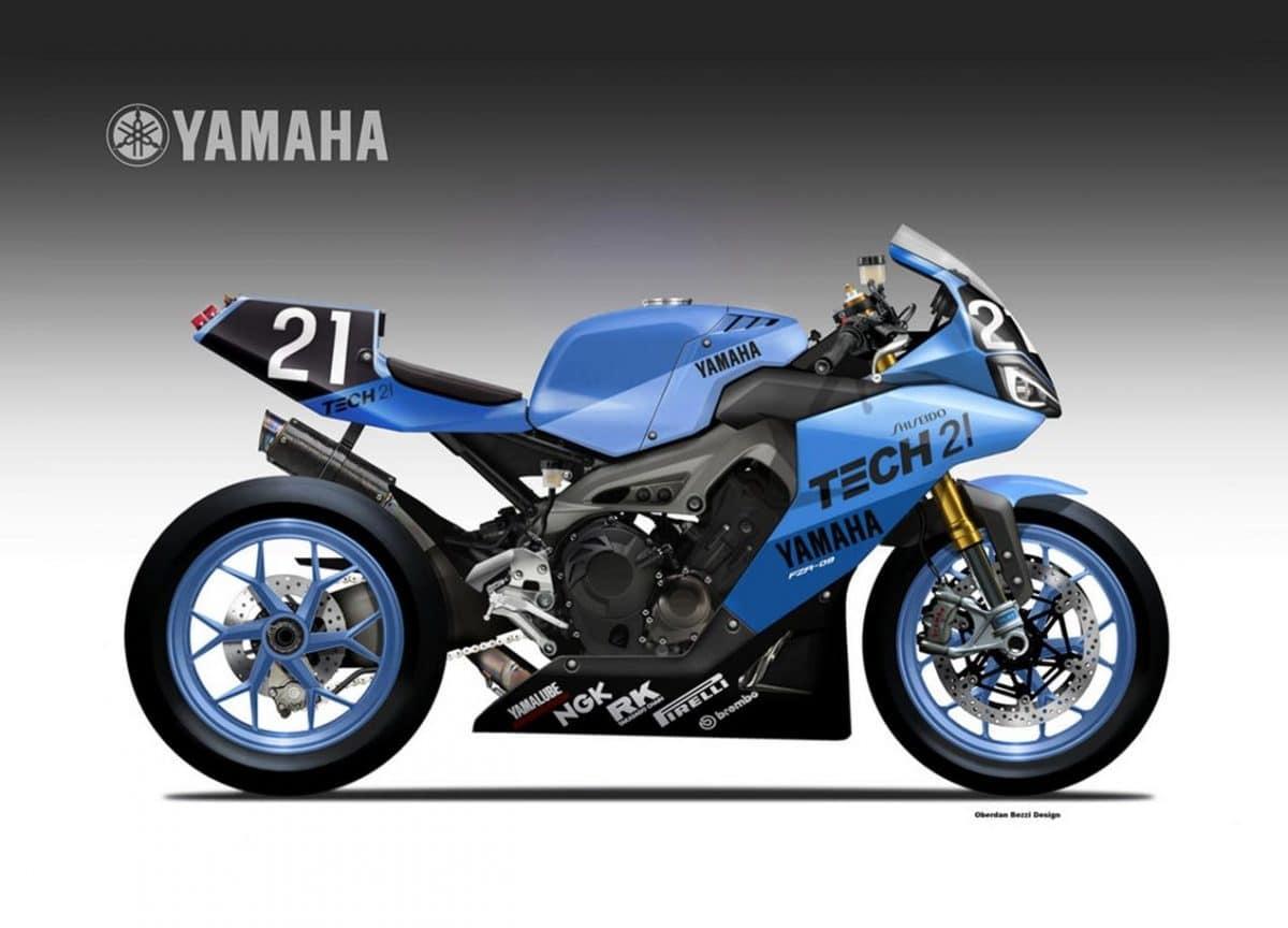 Yamaha YZR-09 by Oberdan Bezzi, la MT-09 para carreras de resistencia
