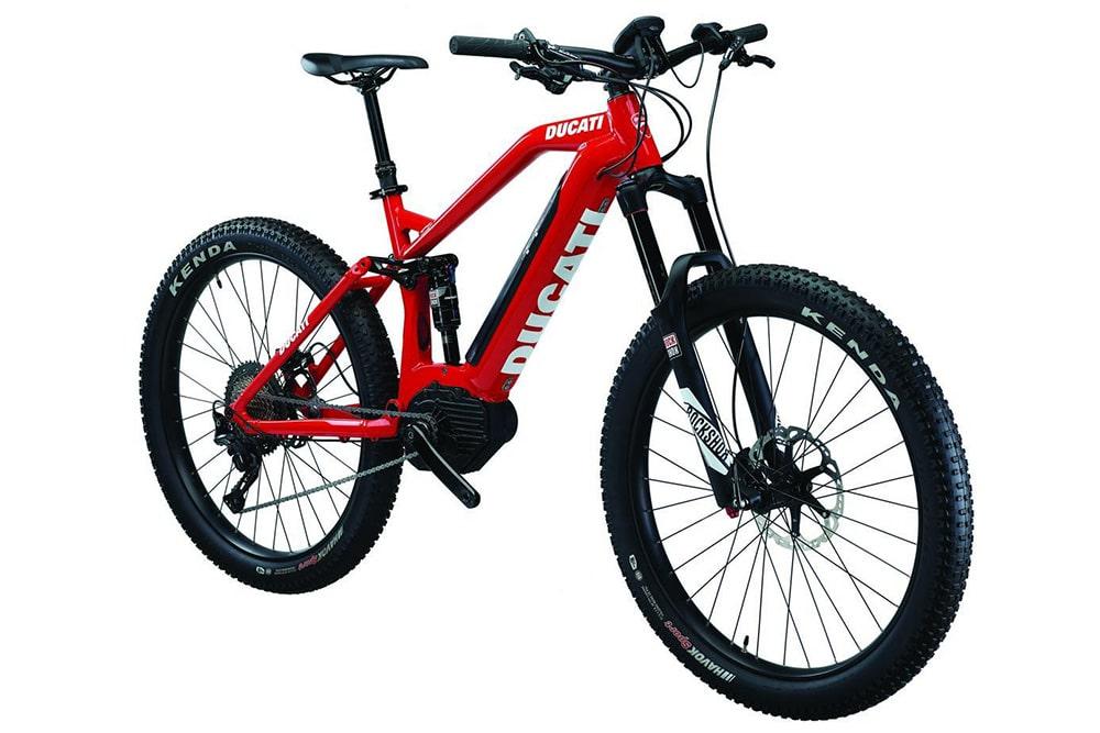 Diez modelos formarán la gama Ducati e-bike