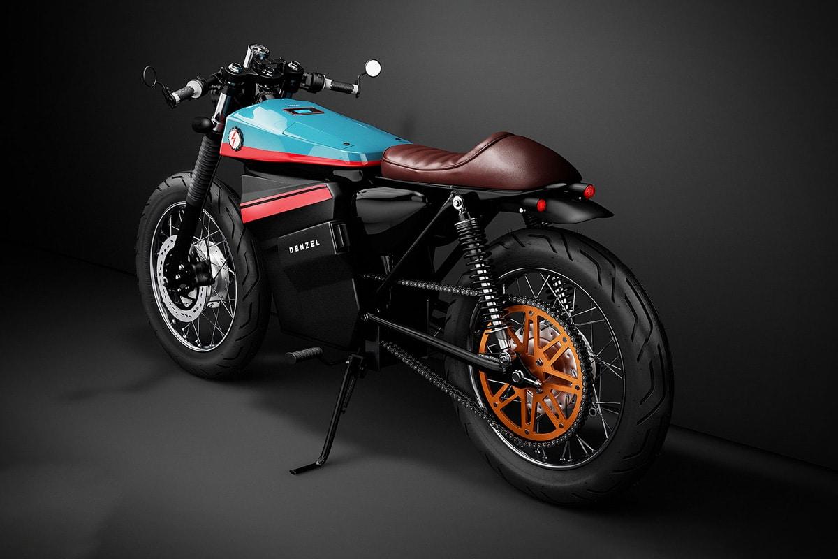 Model Electric Cafe Racer 1, las eléctricas no sólo miran al futuro