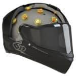 El primer casco con suspensión, un paso más en la protección sobre las motos