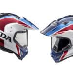 Arai Tour-X4 Africa Twin: ¡nuevo casco al más puro estilo Honda!
