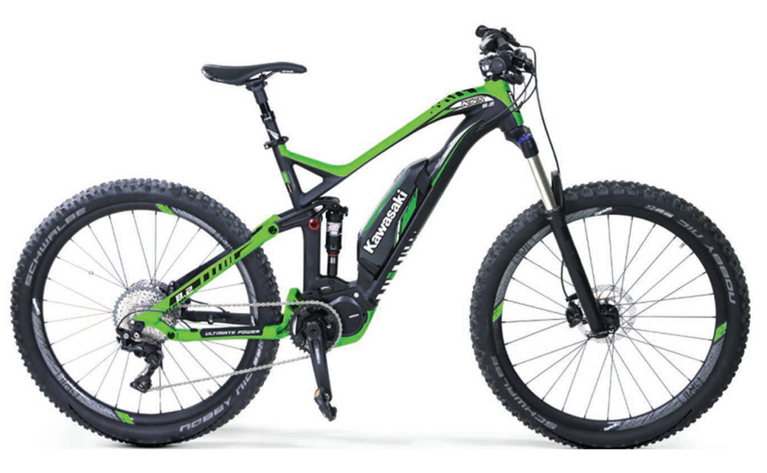 Gama Kawasaki e-bike: Ahora las Ninja también se pedalean