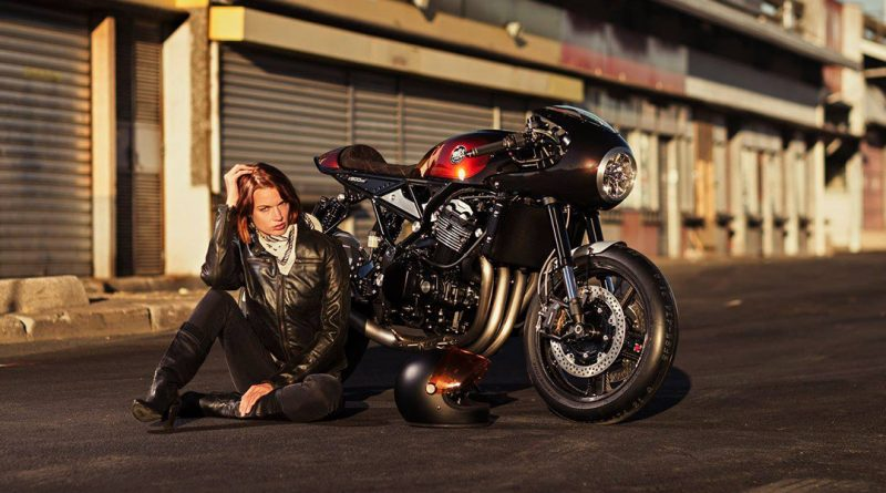Kawasaki Z900 RS by Oficina MRS
