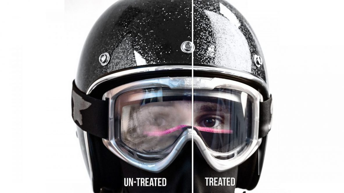 Olvídate del vaho en tu casco con Muc-Off