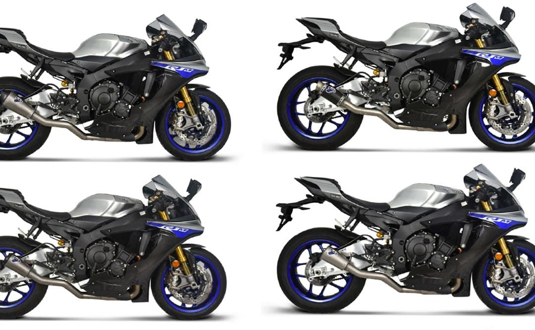 Nuevos accesorios para la Yamaha R1: Slip-on de Termignoni