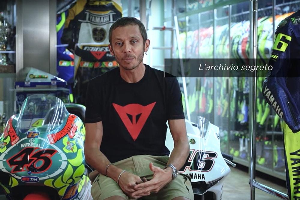 """Valentino Rossi abre su museo secreto: una sala llena de """"joyas"""""""