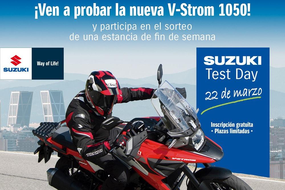 ¿Quieres probar la nueva V-Strom 1050? ¡Suzuki Center te invita!