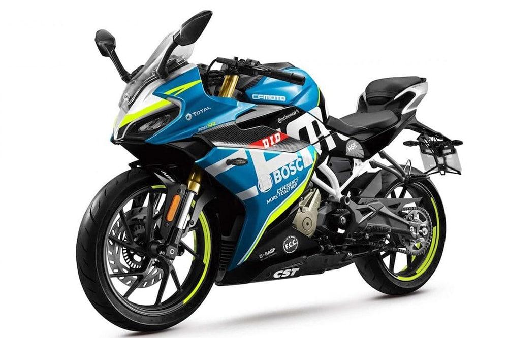 CF Moto 300SR: una nueva deportiva de iniciación
