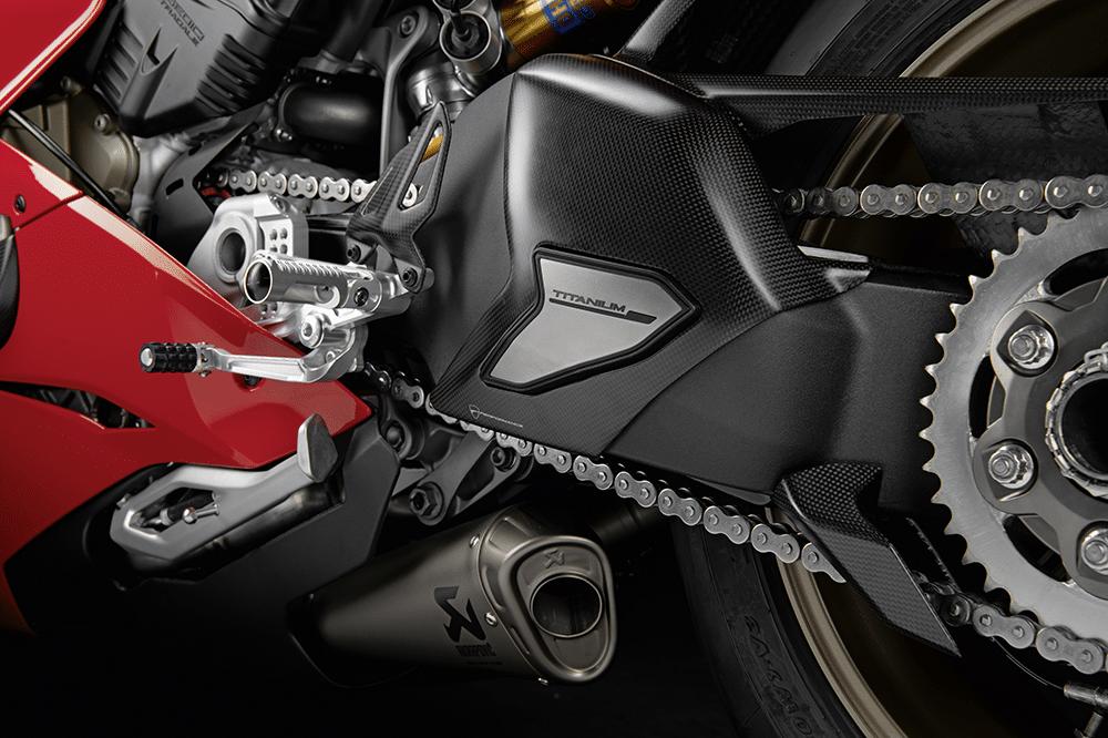 Accesorios racing para la Ducati Panigale V4