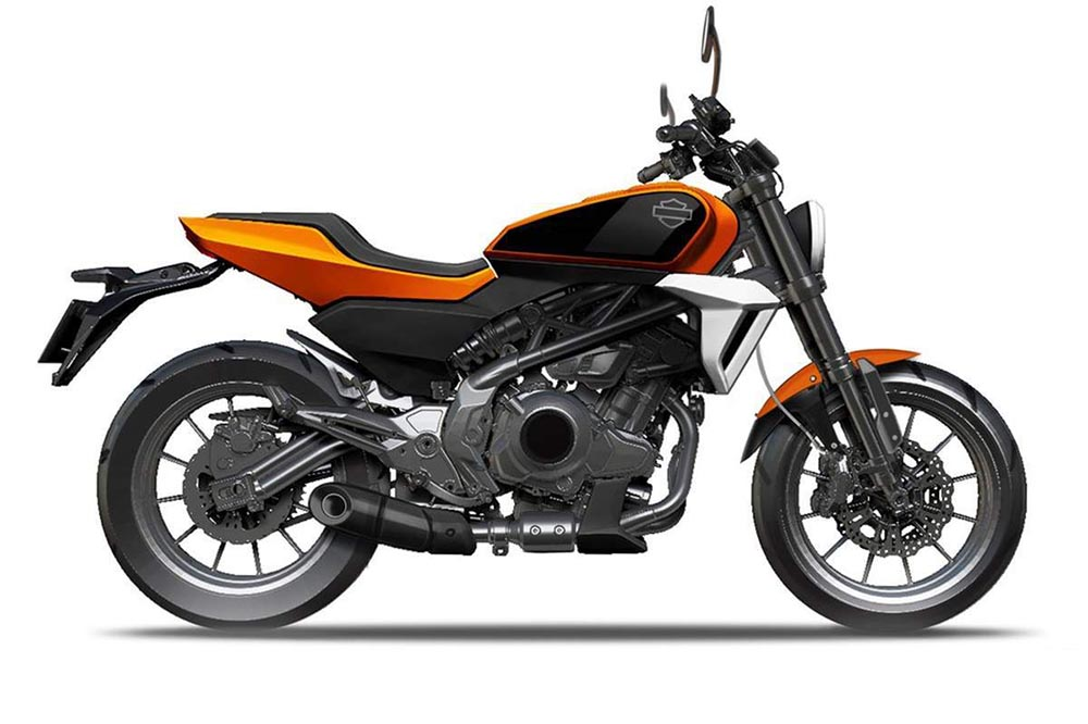 La nueva Harley Davidson HD350 cada vez está más cerca