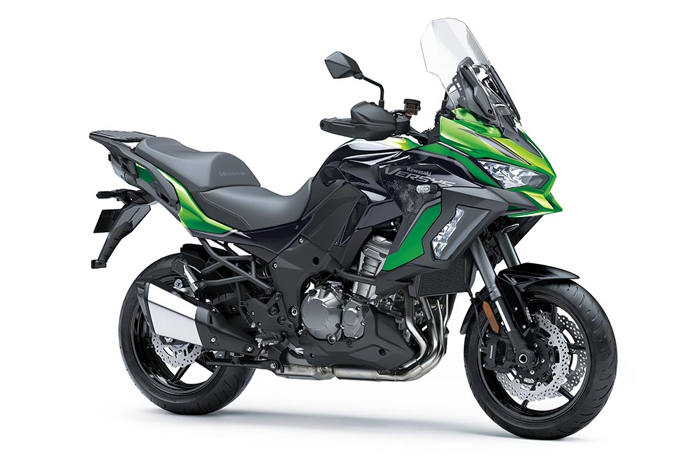 Kawasaki Versys 1000 SE 2021: ficha técnica, fotos y precio